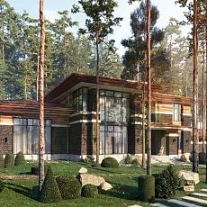 Проект «Дом в Репино»