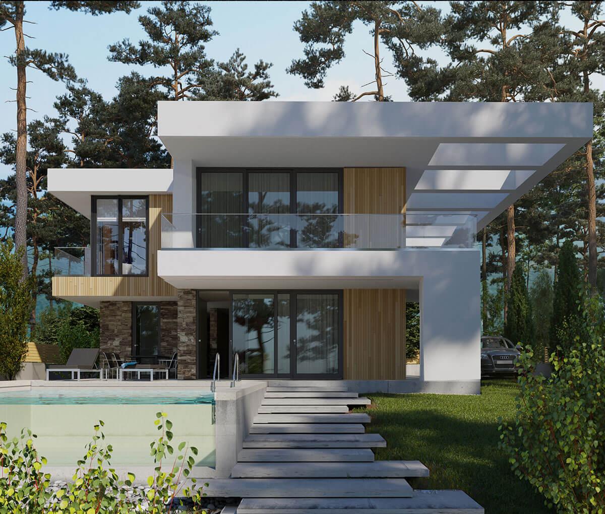 Индивидуальный жилой дом в г. Геленджик